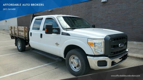 2012 Ford F-350 Super Duty for sale at AFFORDABLE AUTO BROKERS in Keller TX