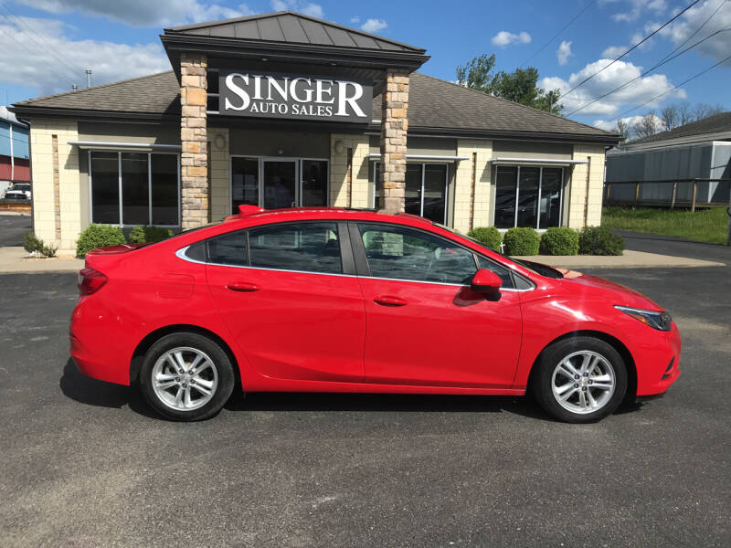 2017 Chevrolet Cruze for sale at Singer Auto Sales in Caldwell OH