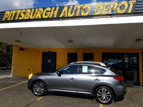 2017 Infiniti QX50 for sale at Pittsburgh Auto Depot in Pittsburgh PA