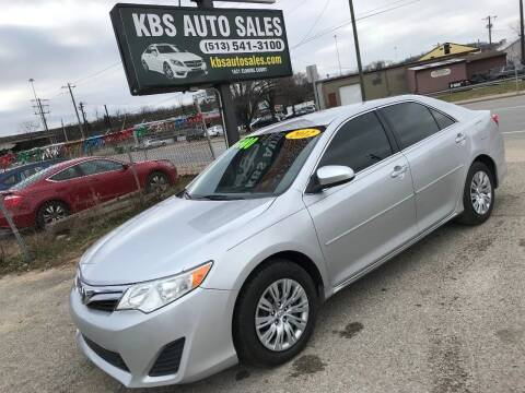 2012 Toyota Camry for sale at KBS Auto Sales in Cincinnati OH