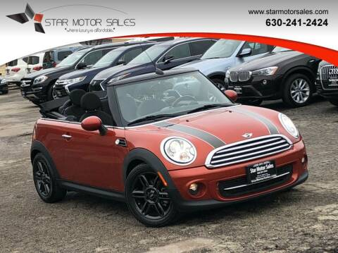 2011 MINI Cooper for sale at Star Motor Sales in Downers Grove IL