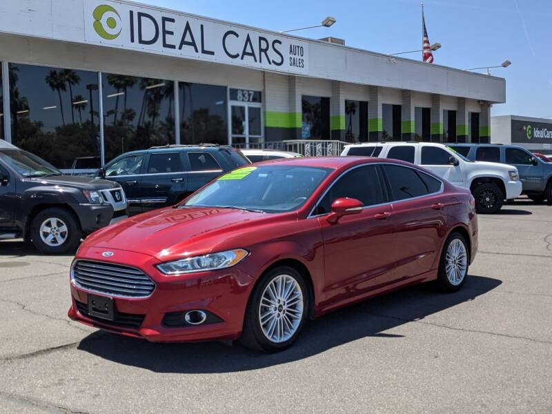2016 Ford Fusion for sale at Ideal Cars in Mesa AZ