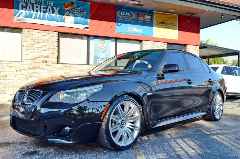 2008 BMW 5 Series for sale at ALWAYSSOLD123 INC in North Miami Beach FL