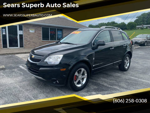 2012 Chevrolet Captiva Sport for sale at Sears Superb Auto Sales in Corbin KY
