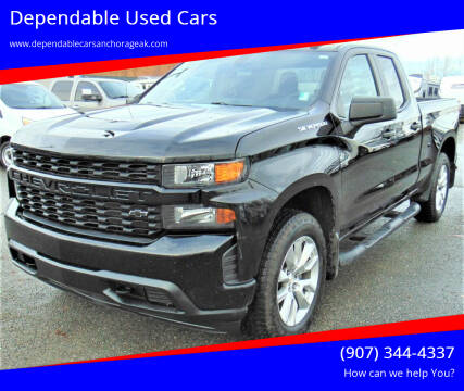 2019 Chevrolet Silverado 1500 for sale at Dependable Used Cars in Anchorage AK