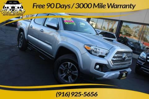 2017 Toyota Tacoma for sale at West Coast Auto Sales Center in Sacramento CA