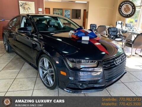 2016 Audi A7 for sale at Amazing Luxury Cars in Snellville GA