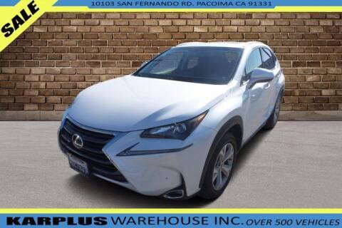 2017 Lexus NX 200t for sale at Karplus Warehouse in Pacoima CA