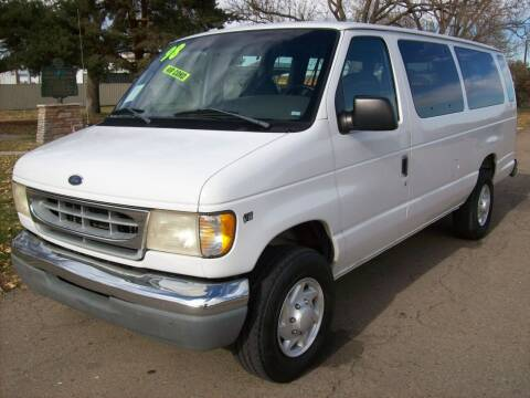 1998 Ford E-350 for sale at EVANS AUTO SERVICE & SALES in Fort Lupton CO