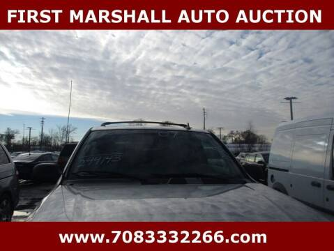 2007 Chevrolet TrailBlazer for sale at First Marshall Auto Auction in Harvey IL
