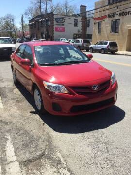 2012 Toyota Corolla for sale at Drive Deleon in Yonkers NY