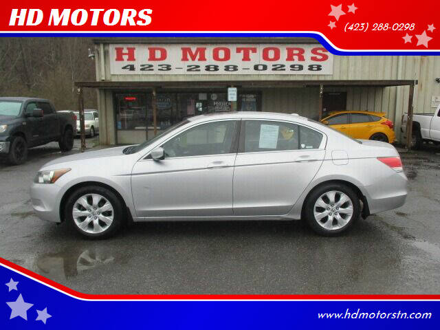 2009 Honda Accord for sale at HD MOTORS in Kingsport TN