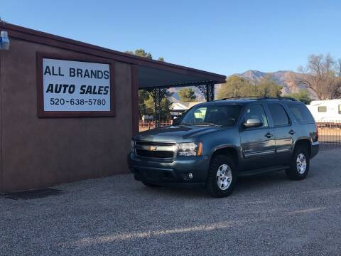 2009 Chevrolet Tahoe for sale at All Brands Auto Sales in Tucson AZ