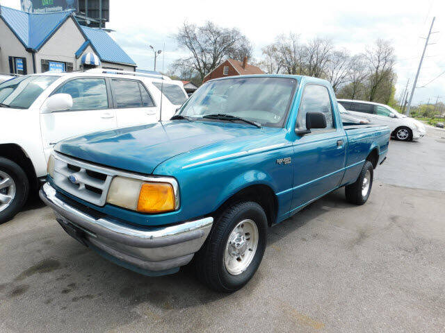 1995 Ford Ranger for sale at WOOD MOTOR COMPANY in Madison TN