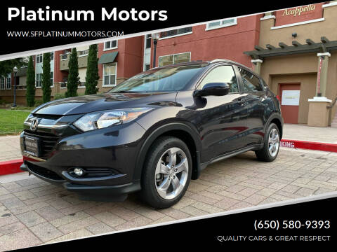 2017 Honda HR-V for sale at Platinum Motors in San Bruno CA