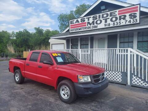 2008 Dodge Dakota for sale at EASTSIDE MOTORS in Tulsa OK