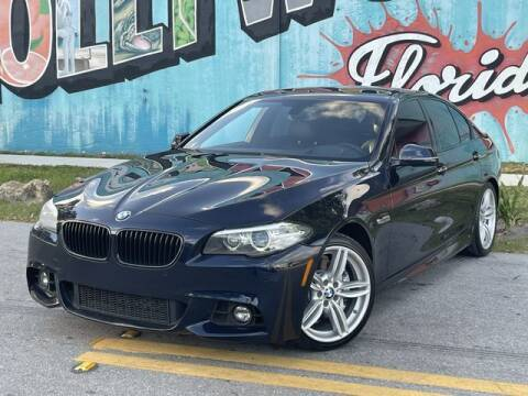 2016 BMW 5 Series for sale at Palermo Motors in Hollywood FL
