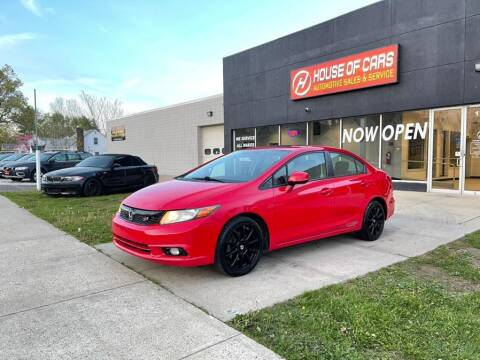 2012 Honda Civic for sale at HOUSE OF CARS CT in Meriden CT