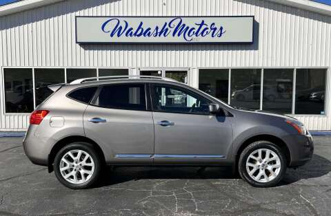 2013 Nissan Rogue for sale at Wabash Motors in Terre Haute IN