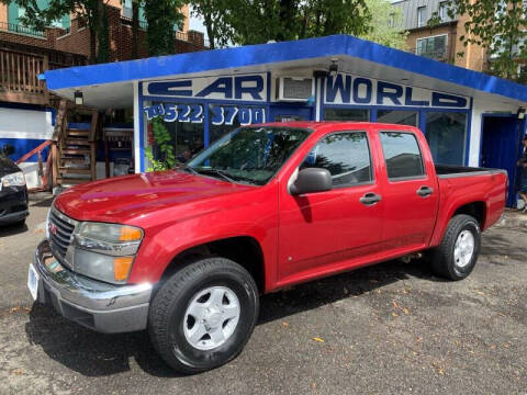 2006 GMC Canyon for sale at Car World Inc in Arlington VA