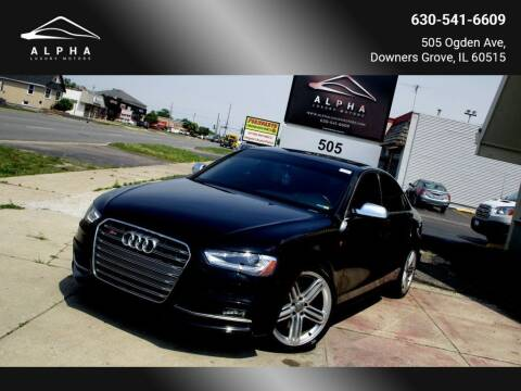 2016 Audi S4 for sale at Alpha Luxury Motors in Downers Grove IL