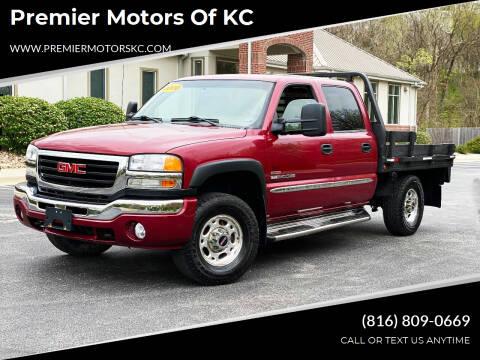 2006 GMC Sierra 2500HD for sale at Premier Motors of KC in Kansas City MO
