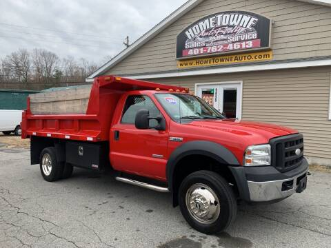 2006 Ford F-550 Super Duty for sale at Home Towne Auto Sales in North Smithfield RI