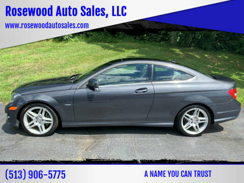 2012 Mercedes-Benz C-Class for sale at Rosewood Auto Sales, LLC in Hamilton OH