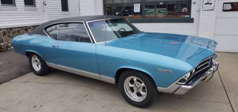 1969 Chevrolet Chevelle Malibu for sale at Carroll Street Auto in Manchester NH
