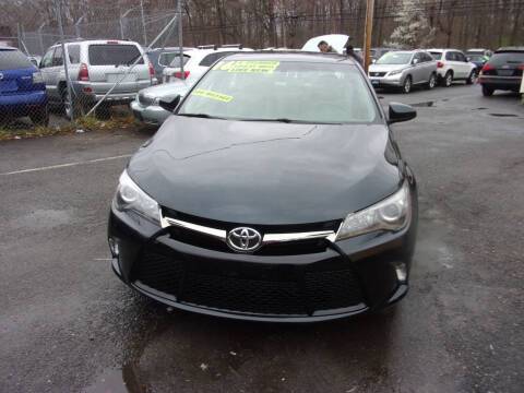 2016 Toyota Camry for sale at Balic Autos Inc in Lanham MD