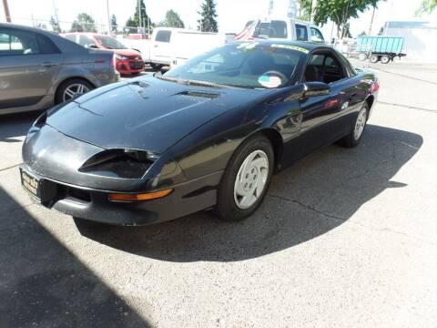 1996 Chevrolet Camaro for sale at Gold Key Motors in Centralia WA