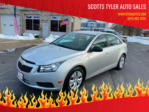 2012 Chevrolet Cruze for sale at Scotts Tyler Auto Sales in Wilmington IL