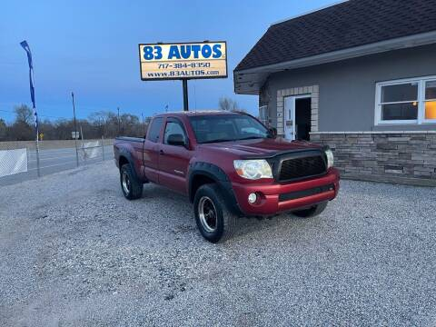 2008 Toyota Tacoma for sale at 83 Autos in York PA