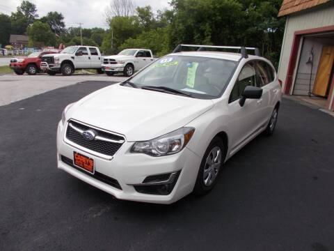 2015 Subaru Impreza for sale at Careys Auto Sales in Rutland VT