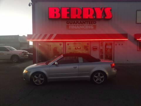 2005 Audi A4 for sale at Berry's Cherries Auto in Billings MT