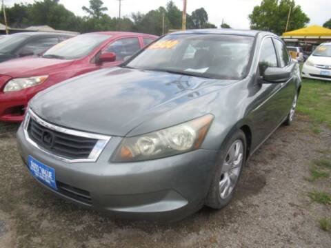 2008 Honda Accord for sale at AUTO VALUE FINANCE INC in Stafford TX