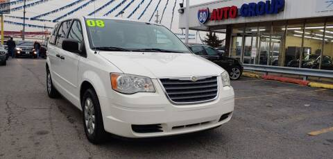 2008 Chrysler Town and Country for sale at I-80 Auto Sales in Hazel Crest IL
