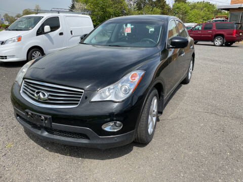 2010 Infiniti EX35 for sale at COLONIAL MOTORS in Branchburg NJ