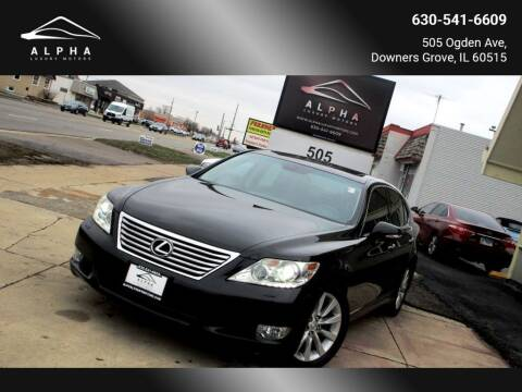 2012 Lexus LS 460 for sale at Alpha Luxury Motors in Downers Grove IL
