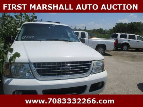 2005 Ford Explorer for sale at First Marshall Auto Auction in Harvey IL