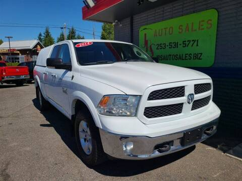 2014 RAM Ram Pickup 1500 for sale at Vehicle Simple @ JRS Auto Sales in Parkland WA