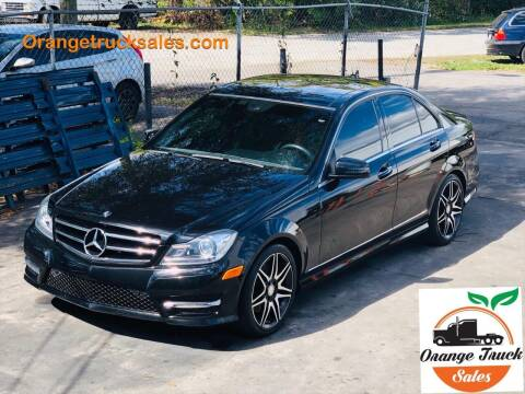 2014 Mercedes-Benz C-Class for sale at Orange Truck Sales in Orlando FL