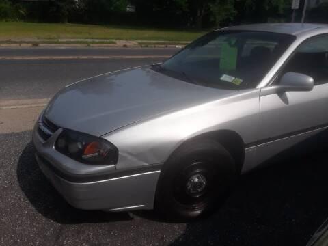 2001 Chevrolet Impala for sale at Autolistix LLC in Salem NJ