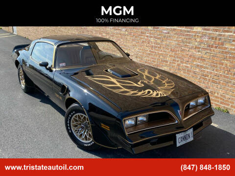 1977 Pontiac Trans Am for sale at MGM CLASSIC CARS in Addison IL