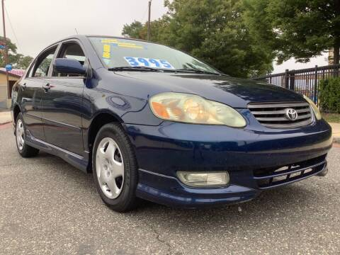 2003 Toyota Corolla for sale at Active Auto Sales Inc in Philadelphia PA