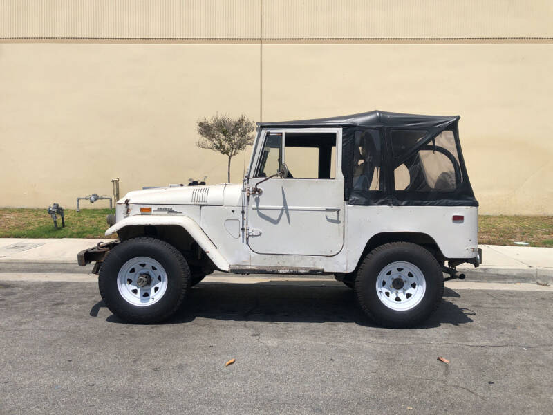 1970 Toyota Land Cruiser for sale at HIGH-LINE MOTOR SPORTS in Brea CA
