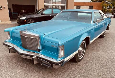 1978 Lincoln Mark V for sale at MAGIC AUTO SALES - Magic Auto Prestige in South Hackensack NJ