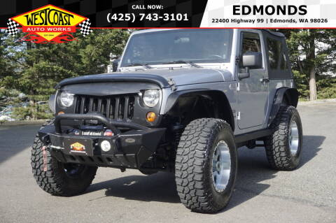 2013 Jeep Wrangler for sale at West Coast Auto Works in Edmonds WA