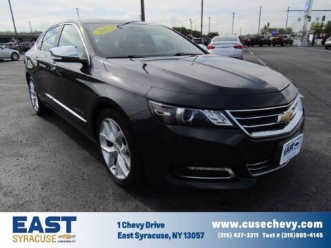 2015 Chevrolet Impala for sale at East Syracuse Performance Sales & Service in Syracuse NY