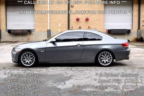 2007 BMW 3 Series for sale at Automotion Of Atlanta in Conyers GA